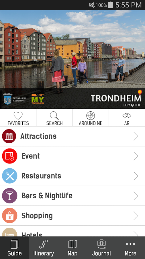 Trondheim Guide- screenshot