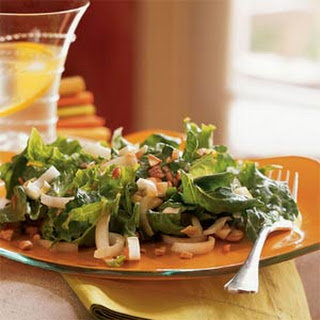 Endive, Sweet Lettuce, and Cashew Salad.