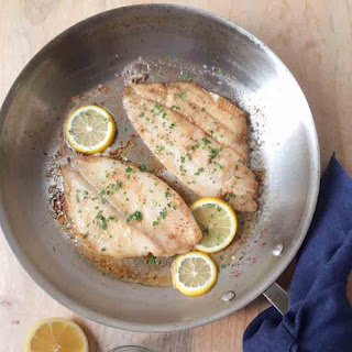 Sole with Butter and Lemon Recipe