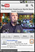 Screenshot of Rioz Brazilian Steakhouse