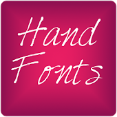 Hand3 fonts for FlipFont® free