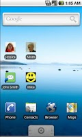 Screenshot of Shortcut Mail