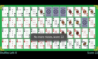 Screenshot of Montana Solitaire