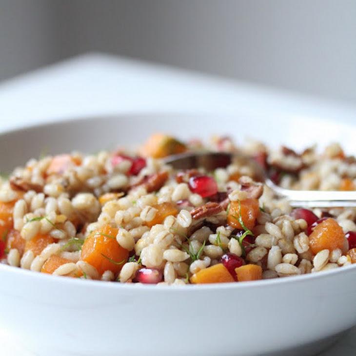 Warm Salad with Barley Pearl Recipe