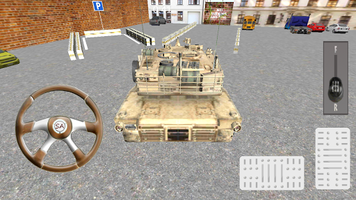 坦克模擬3D