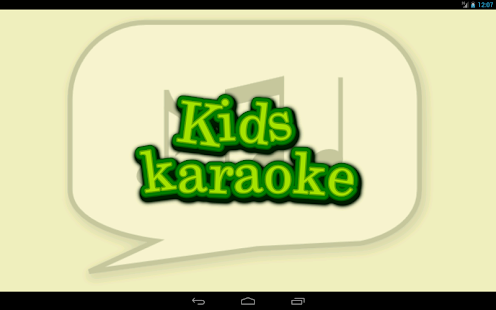 Kids Karaoke - screenshot thumbnail