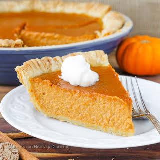 Pumpkin Pie with a Twist.