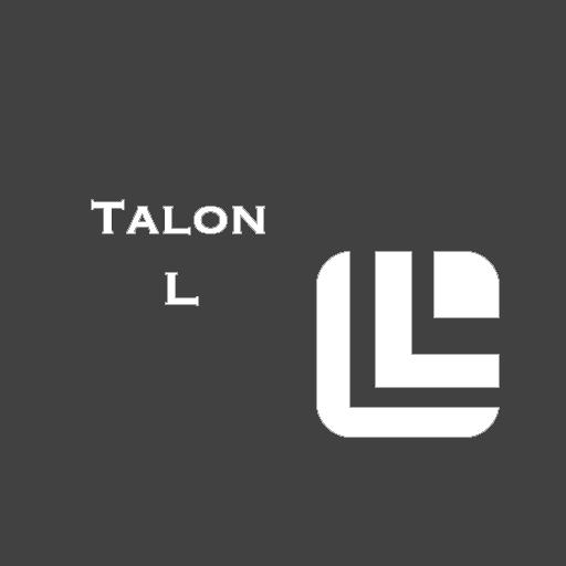 Talon L dark LOGO-APP點子