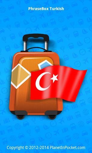 Phrasebook Turkish