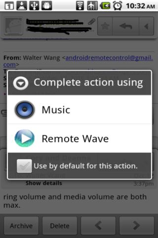 Remote Wave Free - screenshot