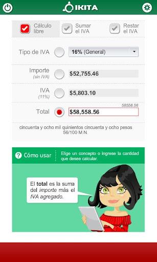 Calculadora de IVA México Pro