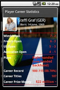Tennis GrandSlam Champs Lite- screenshot thumbnail