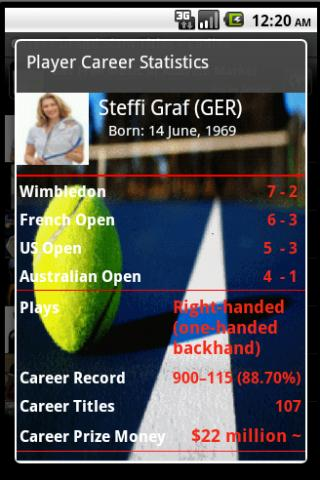 Tennis GrandSlam Champs Lite - screenshot