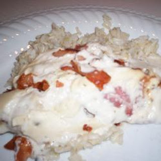 Smothered Bacon Chicken.