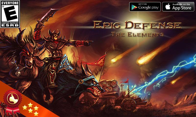 Epic Defense – the Elements - screenshot