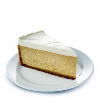 Pumpkin Cheesecake with Truvía® Baking Blend.
