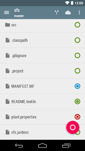 Pocket Git - náhled