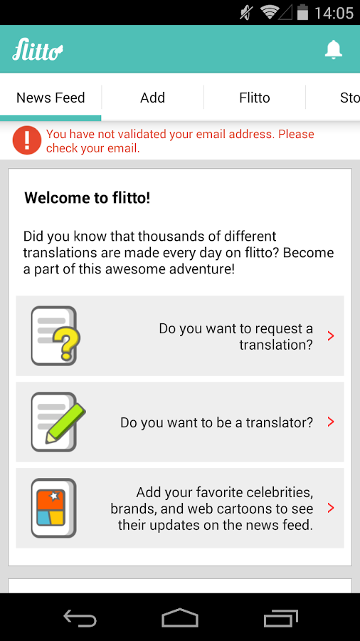 flitto - screenshot