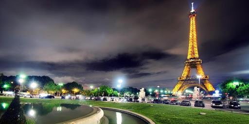 Night Paris Lights LWP