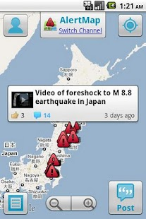 AlertMap - screenshot thumbnail