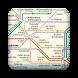 Paris subway map