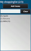 Screenshot of Pro Shopper