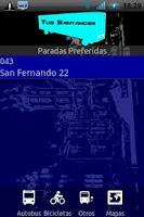 Screenshot of T.U.S. Santander