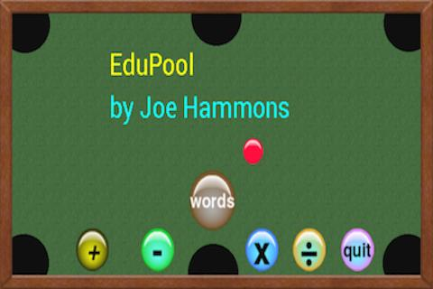 Edu Pool- screenshot