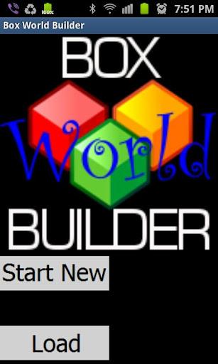 Box World Builder - pseudo 3D