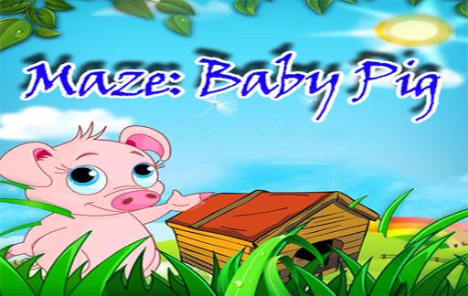 Maze: Baby Pig