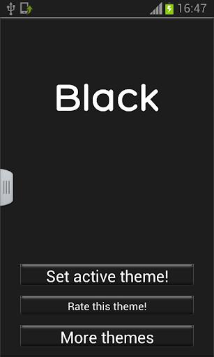 ブラックキーボード
