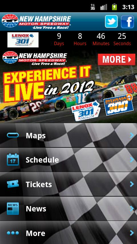 New Hampshire Motor Speedway - screenshot
