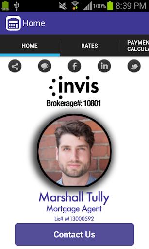 Marshall Tully's Mortgage App
