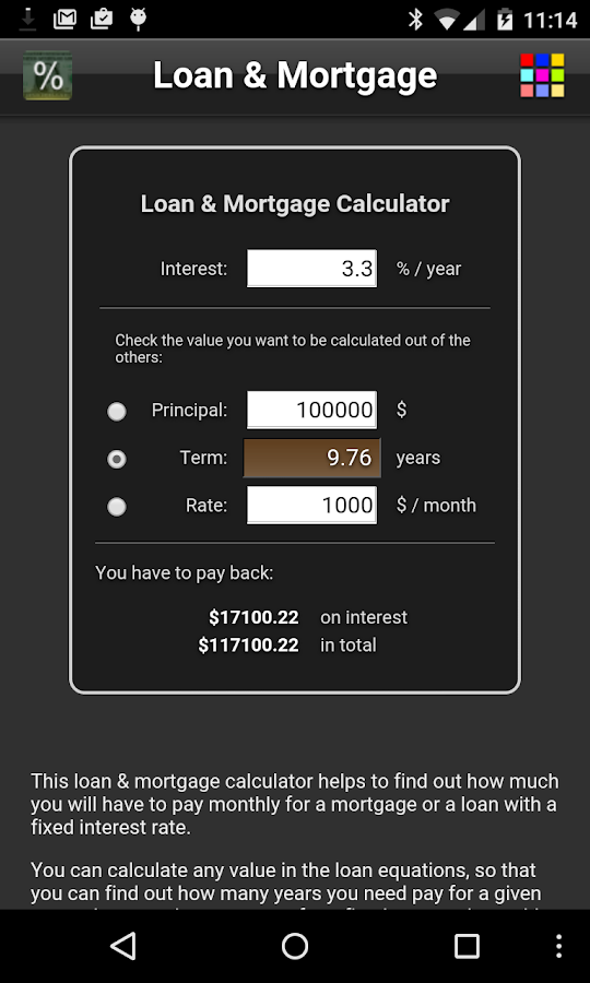 Loan & Mortgage Free- screenshot