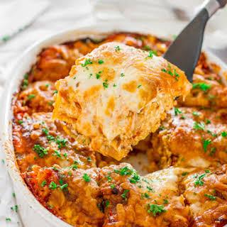 recipe: spicy beef lasagna recipe [18]