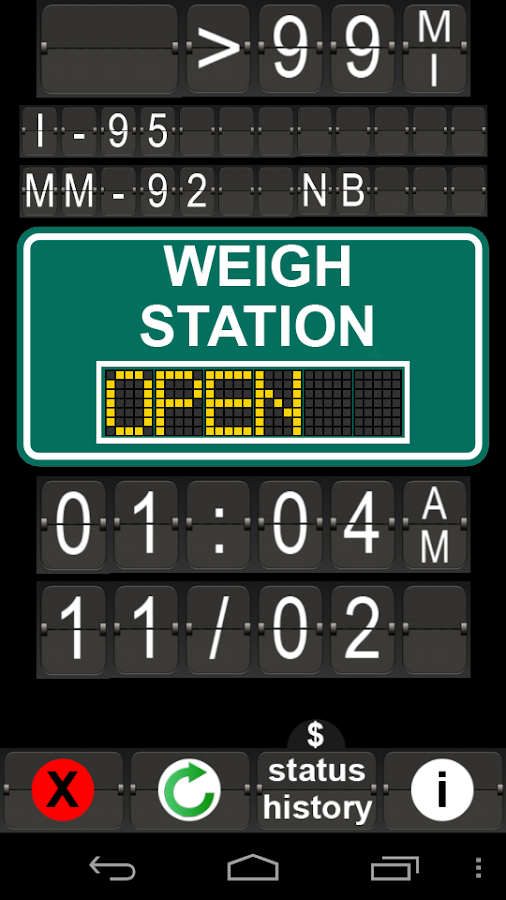 Weigh Stations - screenshot