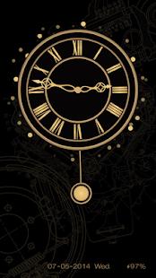 Time Clock Live Locker Theme