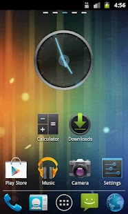 GO Launcher EX Theme ICS - screenshot thumbnail