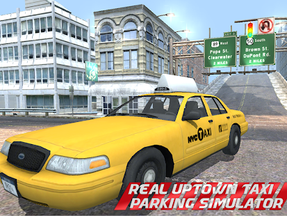 REAL TAXI PARKING SIMULATOR 3D