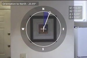 Screenshot of Telemeter - camera measure