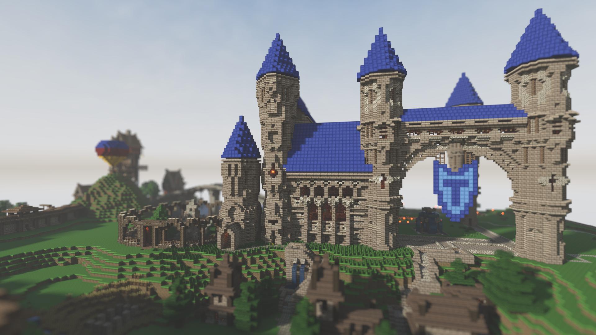 Castle Ideas Minecraft