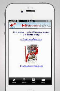 Foreclosures Canada - screenshot thumbnail