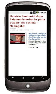 Mediagol Palermo News- screenshot thumbnail
