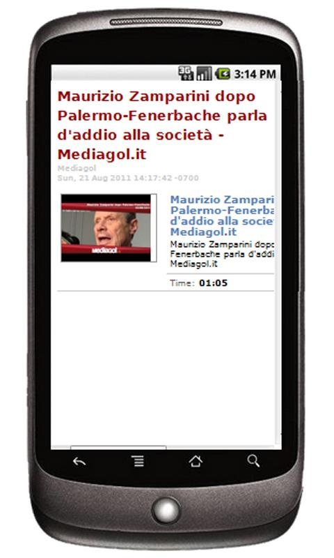 Mediagol Palermo News- screenshot