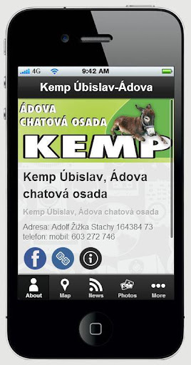 Kemp Úbislav-Šumava