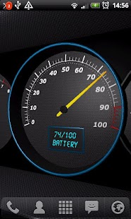 3D Speedometer Live Wallpaper - screenshot thumbnail