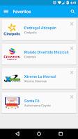 Screenshot of Cine Mapp (Carteleras)