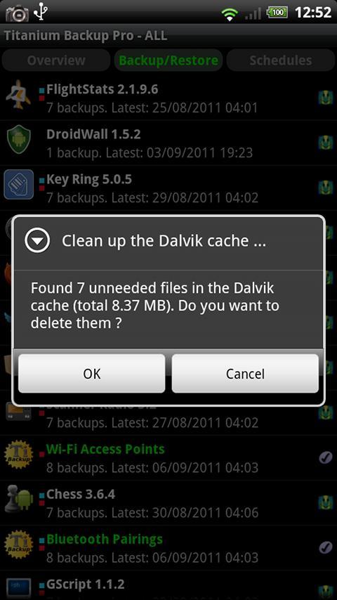 Titanium Backup PRO Key ★ root screenshot #3