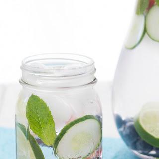 Refreshing Fruit Water.