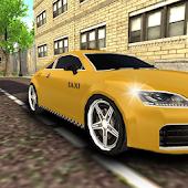 city taxi driver parking 3D
